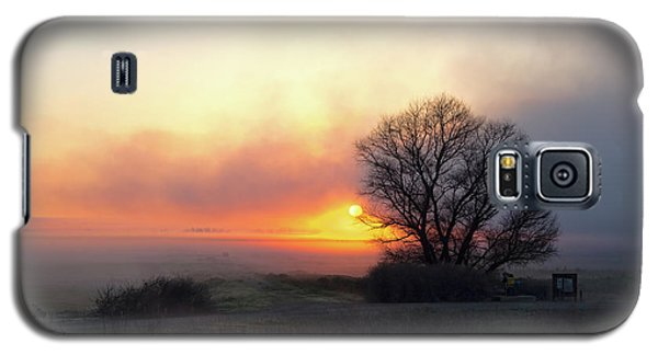 Tule Fog Sunrise  Galaxy S5 Case