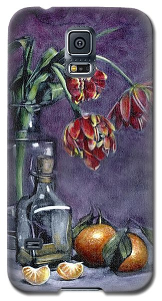 Tulips And Oranges Galaxy S5 Case