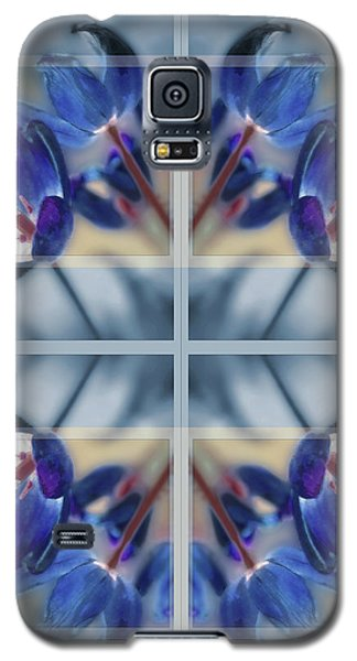 Tulips Of Stained Glass Galaxy S5 Case