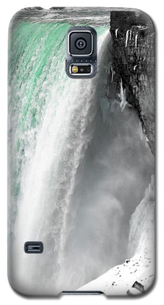 Turquoise Falls Galaxy S5 Case
