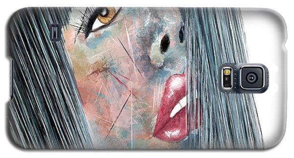 Twilight - Woman Abstract Art Galaxy S5 Case