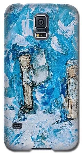 Twin Boy Angels Galaxy S5 Case
