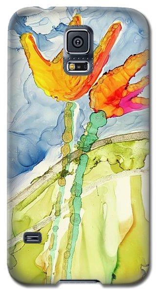 Twin Tulips Galaxy S5 Case