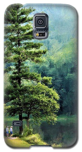 Two Guys And A Pond Galaxy S5 Case