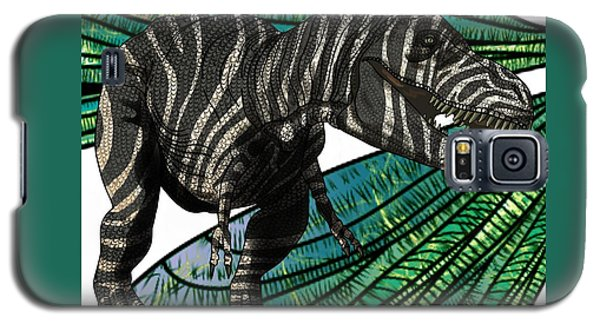Tyrannosaurus Takes Wings Galaxy S5 Case