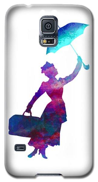Umbrella Lady Galaxy S5 Case
