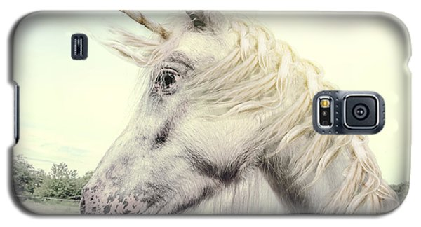 Cold Galaxy S5 Case - Unicorn Photography Realistic by Marben