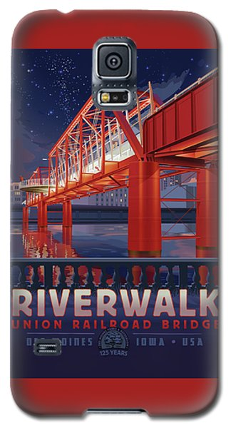 Union Railroad Bridge - Riverwalk Galaxy S5 Case