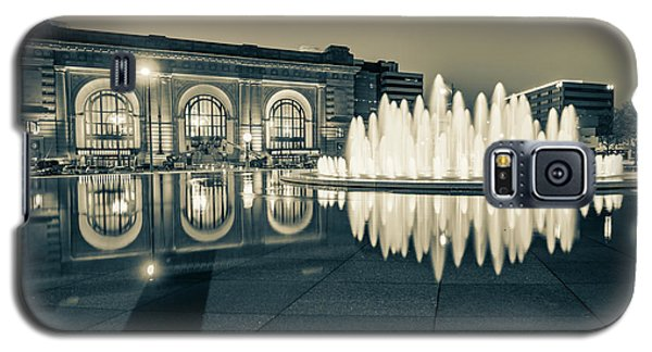 Union Station Bloch Fountain In Sepia - Kansas City Architecture Galaxy S5 Case