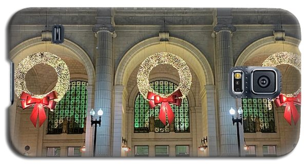 Union Station Holiday Galaxy S5 Case