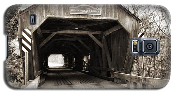 Union Village Covered Bridge Galaxy S5 Case