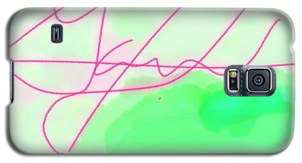 Unknown Signature Galaxy S5 Case
