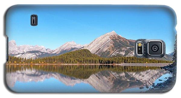 Upper Kananaskis Lake And Reflection Galaxy S5 Case