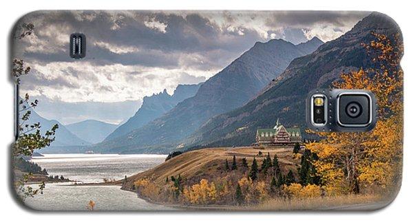 Upper Waterton Lakes Galaxy S5 Case