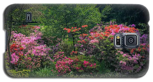 Urban Flower Garden Galaxy S5 Case
