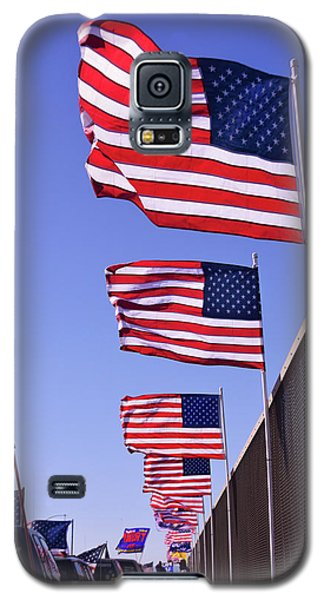 U.s. Flags, Presidents Day, Central Valley, California Galaxy S5 Case