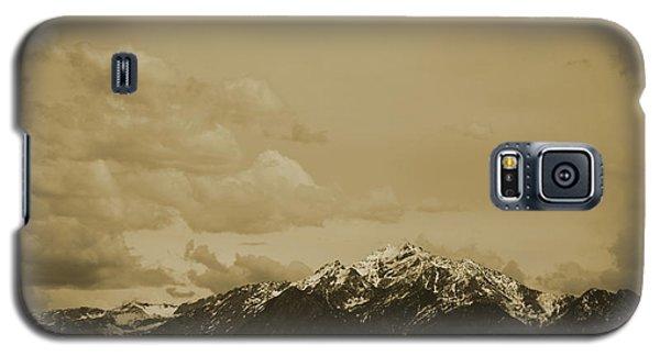 Utah Mountain In Sepia Galaxy S5 Case