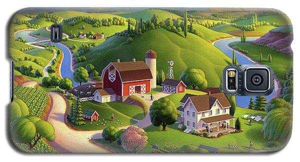 Valley Spring Farm  Galaxy S5 Case