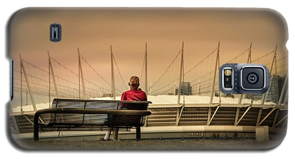 Vancouver Stadium In A Golden Hour Galaxy S5 Case