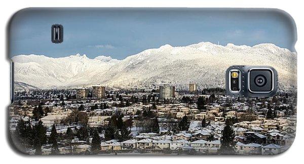 Vancouver Winterscape Galaxy S5 Case