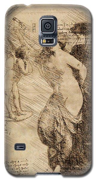 Venus Weigh Cupid Galaxy S5 Case