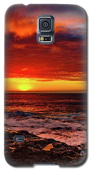 Vertical Warmth Galaxy S5 Case