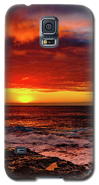Vertical Warmth Galaxy S5 Case