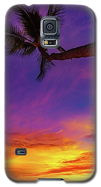 Vibrant Kona Inn Sunset Galaxy S5 Case