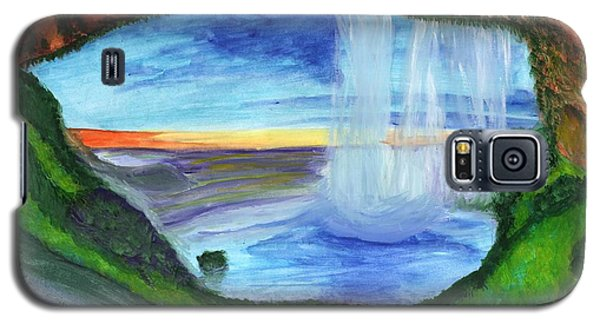View From The Cave To The Waterfall Galaxy S5 Case