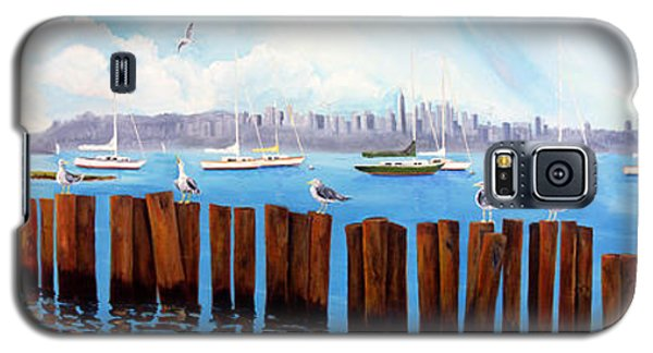 View From The Moshier's Tiki Bar Galaxy S5 Case
