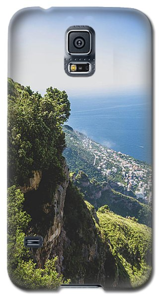 View Of Amalfi Italy From Path Of The Gods Galaxy S5 Case
