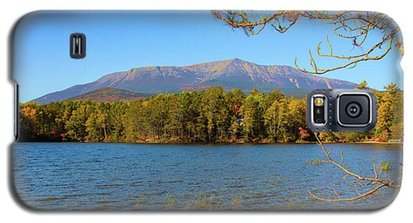 View Of Katahdin In Early Fall Galaxy S5 Case