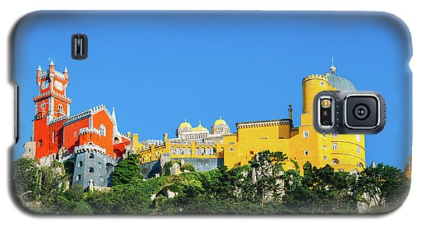 View Of Pena National Palace, Sintra, Portugal, Europe Galaxy S5 Case