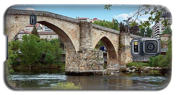 View Of The Roman Bridge And The Minho River Galaxy S5 Case