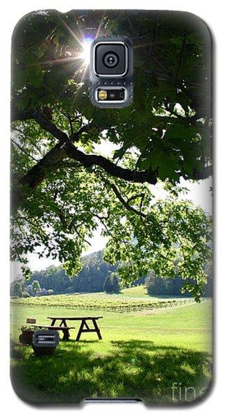 Vineyard In Georgia Galaxy S5 Case
