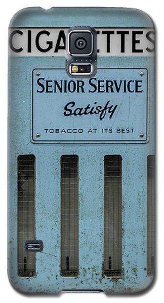 Senior Service Vintage Cigarette Vending Machine Galaxy S5 Case