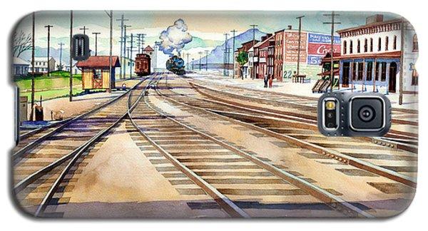Vintage Color Columbia Rail Yards Galaxy S5 Case
