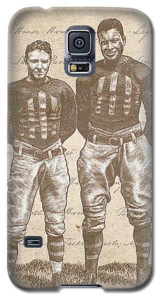 Vintage Football Heroes Galaxy S5 Case