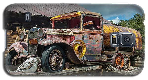 Vintage Ford Tanker Galaxy S5 Case