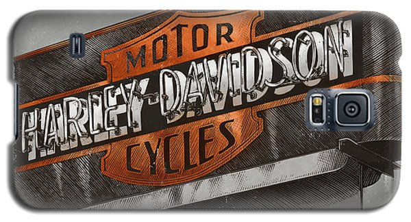 Vintage Motorcycle Shop Galaxy S5 Case