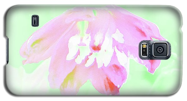 Galaxy S5 Case featuring the photograph Violet Red Islamic Flora by Rockin Docks