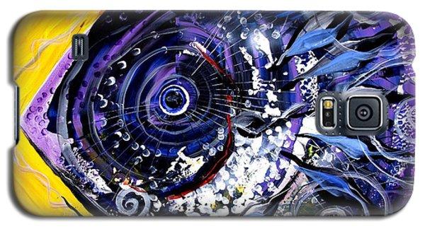 Violet Tri Fish Galaxy S5 Case