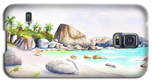 Virgin Gorda Little Trunk Bay Galaxy S5 Case