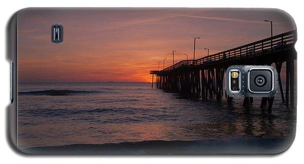 Virginia Beach Sunrise Galaxy S5 Case