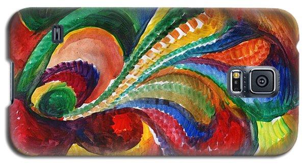 Vivid Abstract Watercolor Galaxy S5 Case