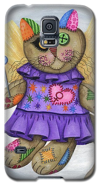 Voodoo Empress Fairy Cat Doll - Patchwork Cat Galaxy S5 Case