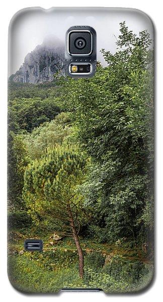 Walking Along The Mountain Path Galaxy S5 Case