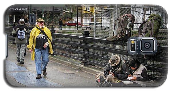 Walking-travellers Galaxy S5 Case