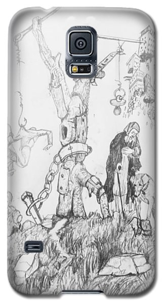Wall Art Galaxy S5 Case