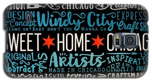 Wall Art Chicago Galaxy S5 Case